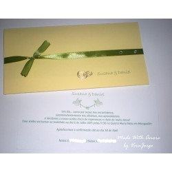 Rings Wedding Invitation