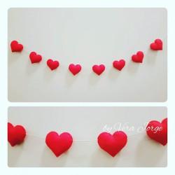 Hearts Garland 04