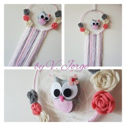 Owl Dream Catcher 01