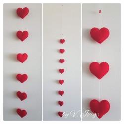 Hearts Garland 05