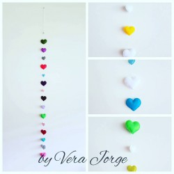 Hearts Garland to PERSONALISE