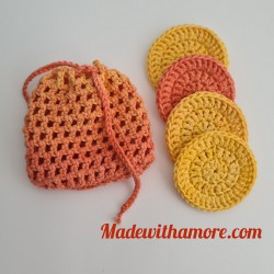 Face Scrubbies with Bag - 05