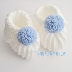 Baby Booties 03-06 Months -...