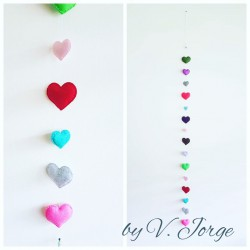 Hearts Garland 01