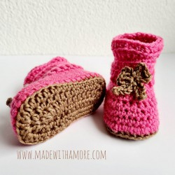 Baby Booties 00-06 Months -...