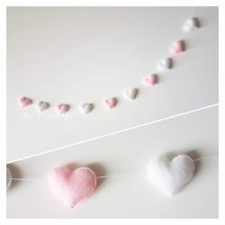 Hearts Garland 10