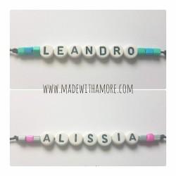 Wish Bracelet with Name 01