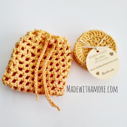 Face Scrubbies with Bag - 02