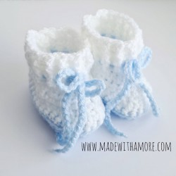 Baby Booties 00-03 Months -...